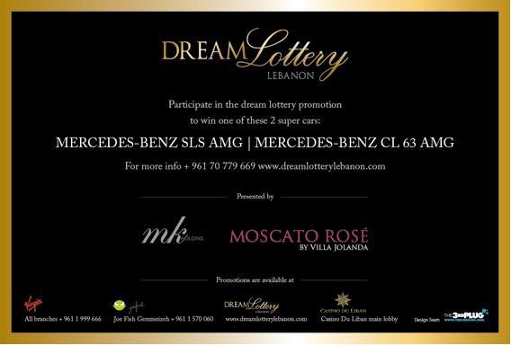 Dream Lottery Lebanon Car At Casino Du Liban