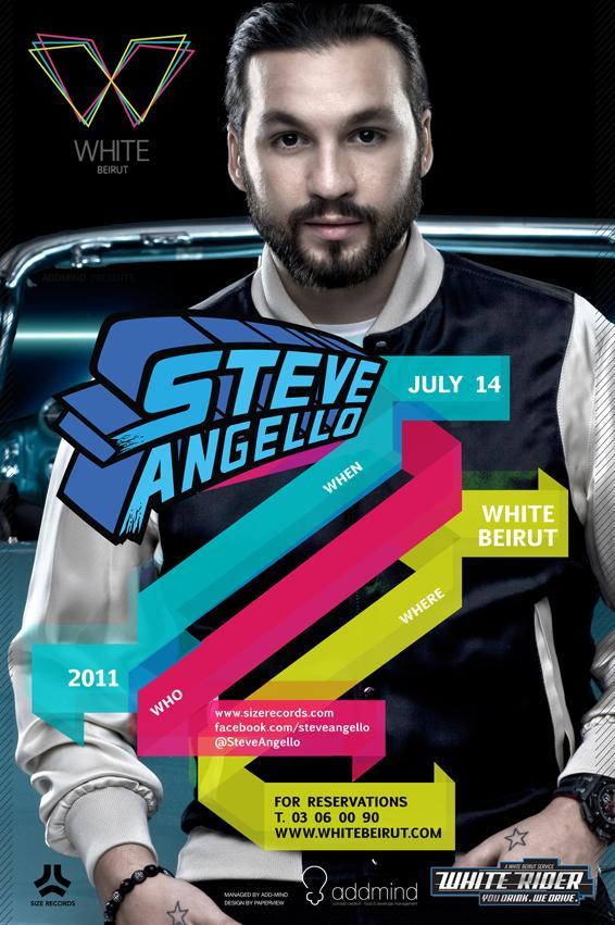 Steve Angello At White Beirut