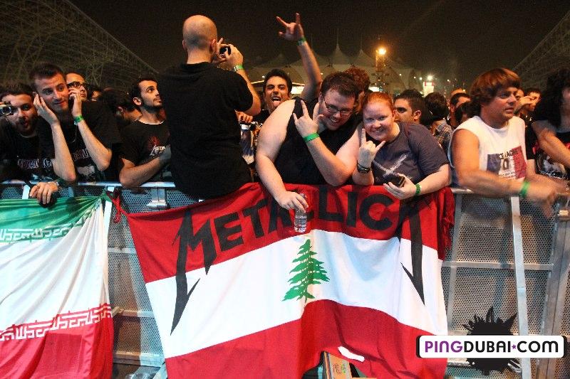 Metallica Rocks YAS Island Live in Abu Dhabi