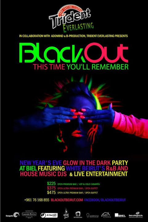 Blackout New Year's Eve Party - BNL