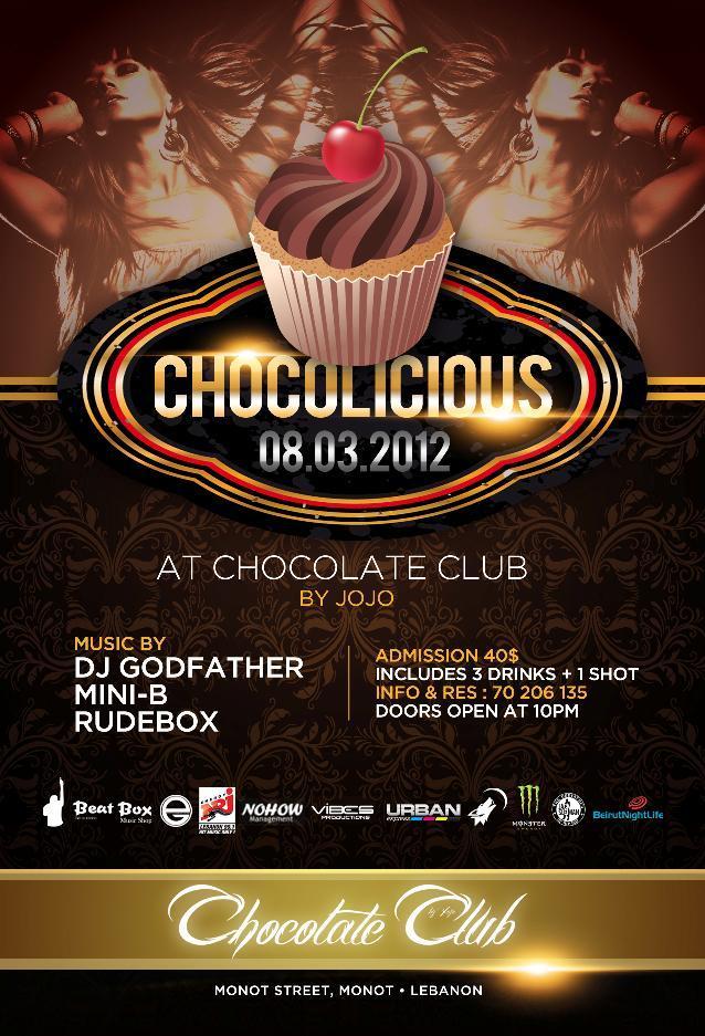 Chocolicious At Chocolate Club