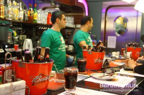 Budweiser Turns Bob's Diner Green with Festive Vibes