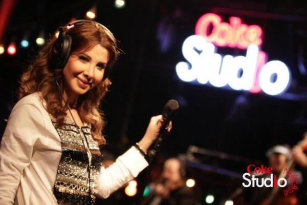 Nancy Ajram Performs on Coke Studio