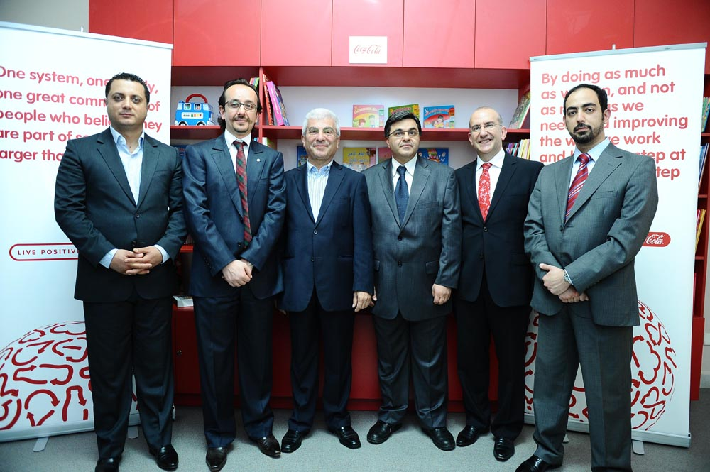 Coca-Cola inaugurates a children's library at Baabda Government Hospital