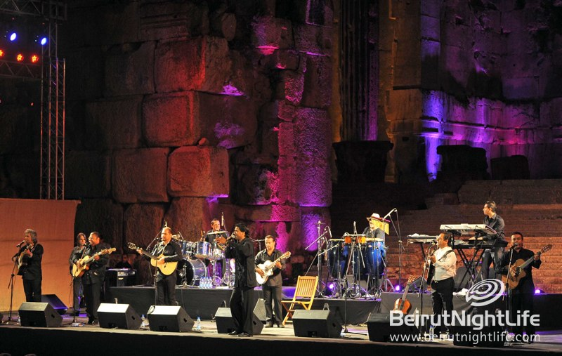 Chico and the Gypsies inaugurate Baalbeck International Festival 2012