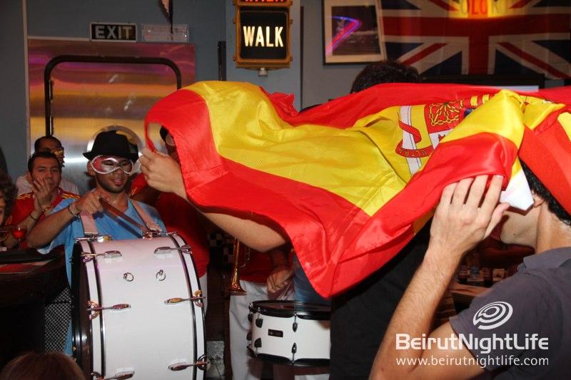 Euro 2012 Final Game Around Town