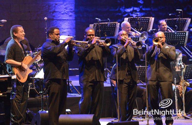 The Dizzy Gillespie All-Star Big Band: A Zest of Jazz at is Best at Beiteddine Festival 2012