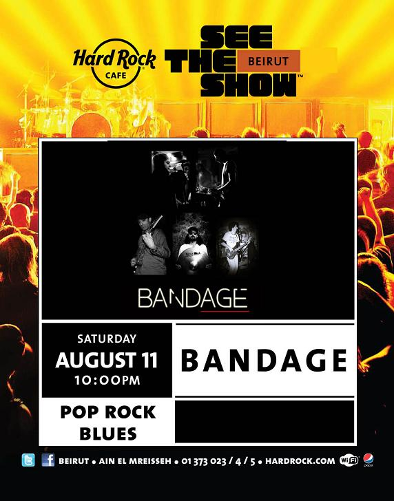 Bandage Band Live At Hard Rock Cafe