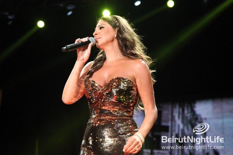 Elissa Graces the Stage at Beirut Souks