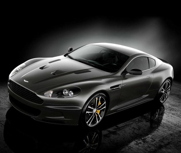 The 2013 Aston Martin Vanquish