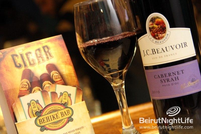 Tire Bouchon Wine Tasting Night at Behike Bar