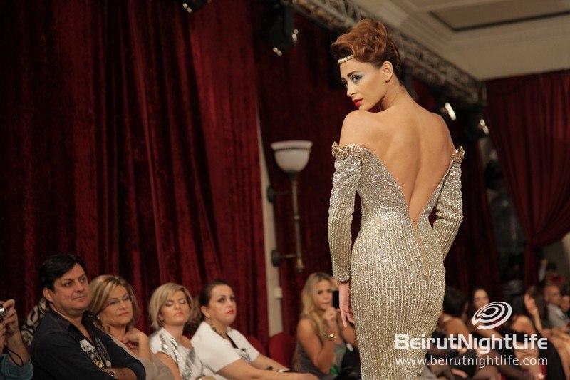 Tony Yaacoub Fashion Show At Phoenicia Hotel