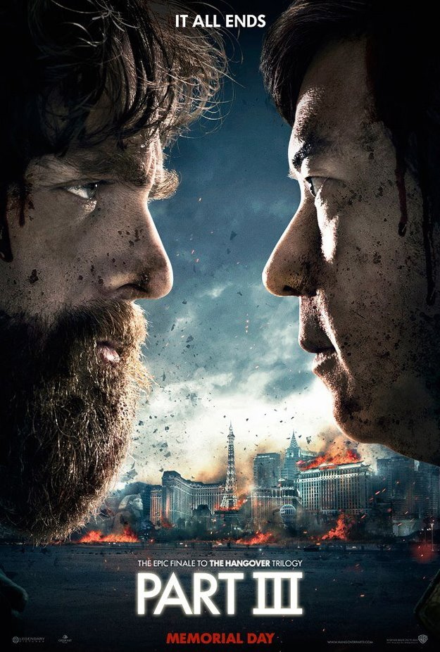Las Vegas Burns on the First Poster for The Hangover Part III
