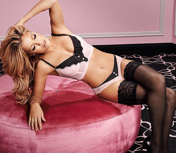 Sylvie van der Vaart sizzles in lingerie ads