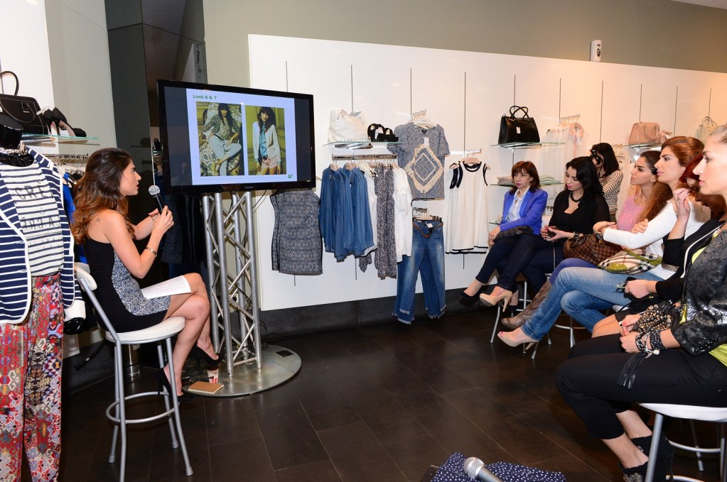 MANGO, Le Mall Sin El Fil transforms into a Fashion Workshop