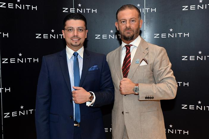 "Zenith watches announces Dr. Majd Naji as its ""friend of the brand"""
