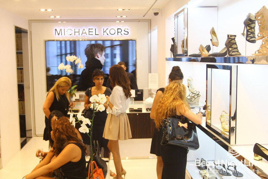 Attention Fashionistas!Michael Kors Shop Open in Downtown Beirut