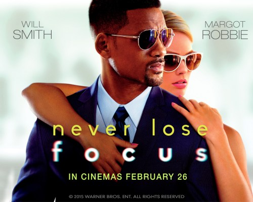 """Win Free Tickets for """"FOCUS"""" at Beirut Souks Cinemacity"""