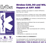 FREE Pediatric Stroke Sign Printable