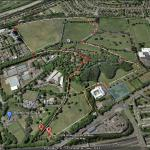 Bellahouston Park Long 2 mile Loop (map 1 of 2)