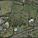 Bellahouston Park Long 2 mile Loop (map 2 of 2)