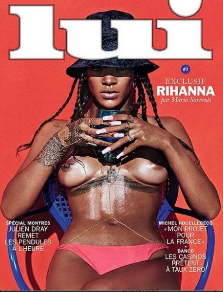 Rihanna for Lui Magazine - April 2014 - BellaNaija,com 01