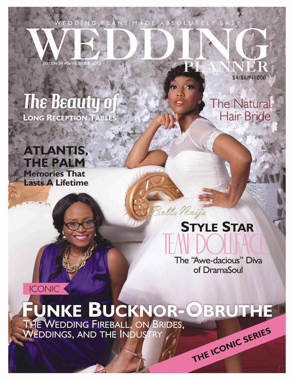 here comes the bride temi dollface covers wedding planner magazines latest issue wedding magazines The latest issue of Wedding Planner magazine is out and the cover star is non other than music star Temi Dollface as she is joined by Wedding planner Funke