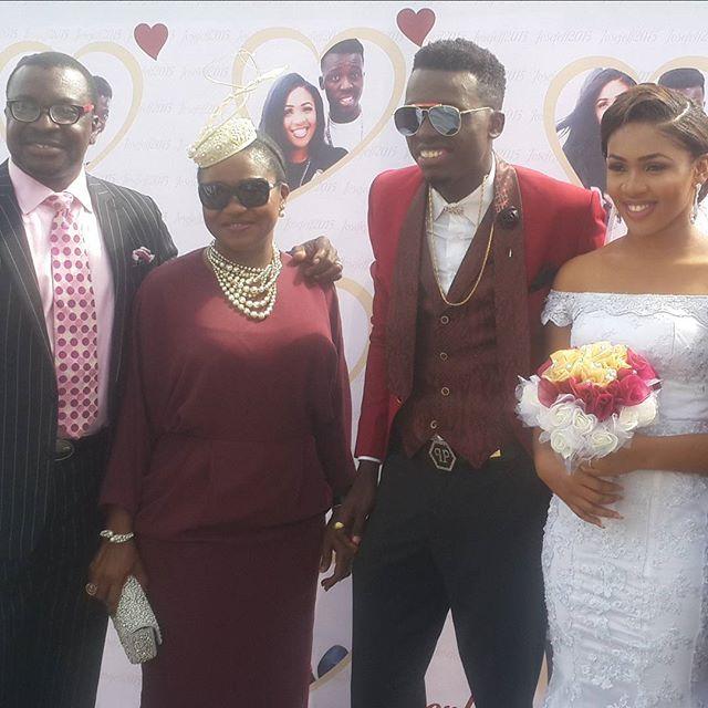 Akpororo Josephine White Wedding 2