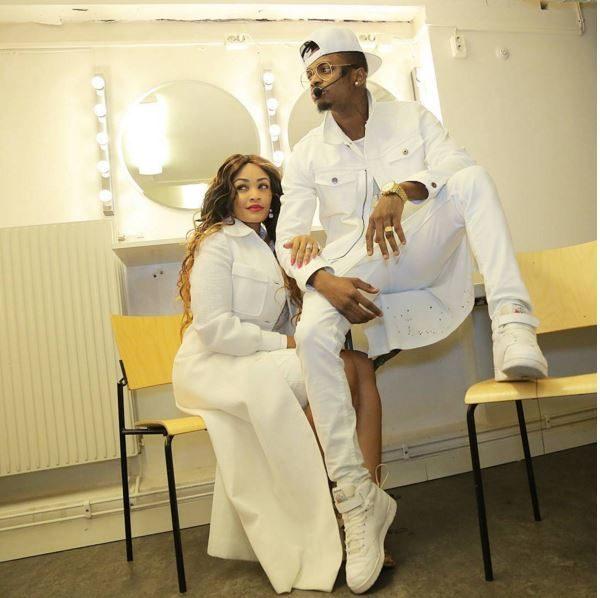 Squad Diamond Platnumz Is On His World Tour With Zari Baby Tiffah Dangote Mum Africanhitz