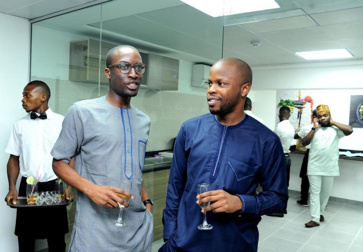 Gbenga Ajala and Ayo Aina