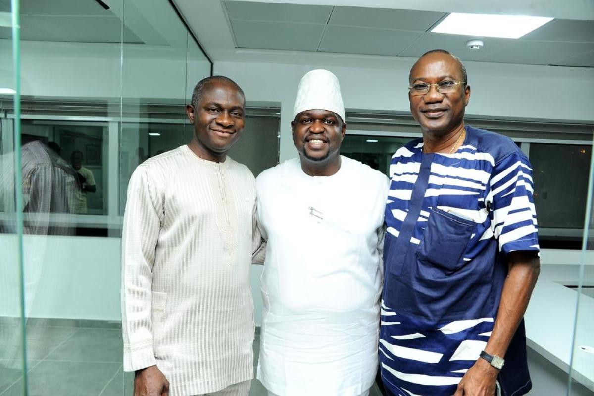 Wale Oluwo, Kayode Adegbola and Chief Tunji Alapinni
