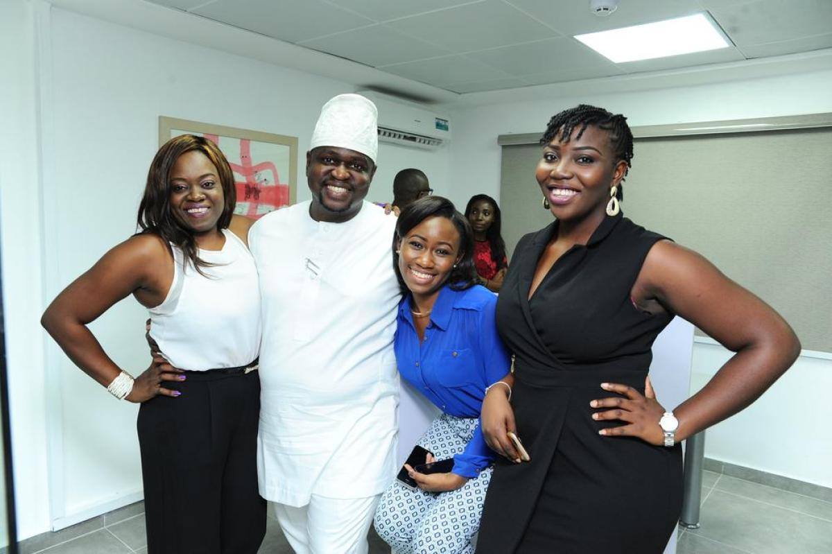 Kemi Akanni-Aluko, Kayode Adegbola, Nini Yomi-Layinka and Ebun Oluyemi