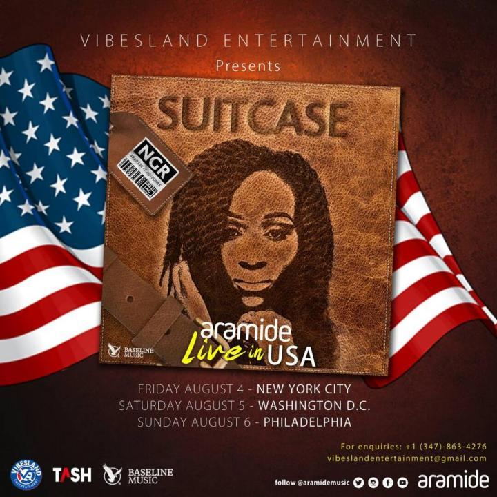 "BellaNaija - Aramide stuns in New Photos as she announces ""Suitcase"" US Tour"