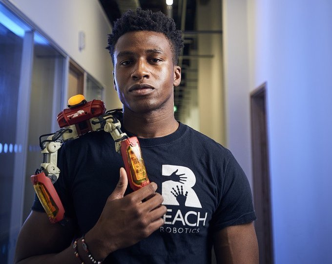 Meet Silas Adekunle: Nigerian, builder of world's first Gaming Robots