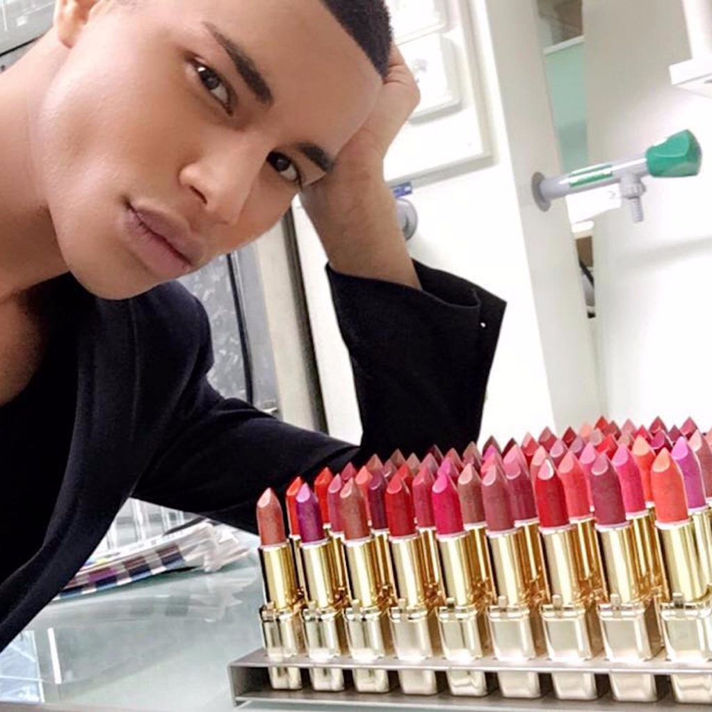 Balmain-LOreal-Makeup-Collaboration