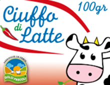 Packaging | Ciuffo di latte | Caseificio La Fonte