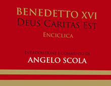 Cover book | Deus caritas est | Benedetto XVI | Angelo Scola