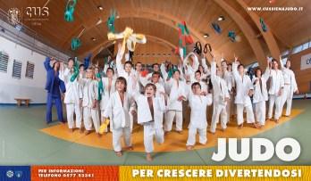 Immagine coordinata | Cus Siena Judo | Manifesto