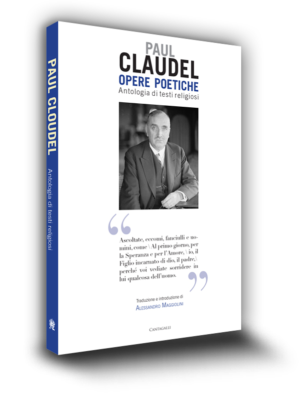 Cover book | Opere poetiche | Paul Claudel | Edizioni Cantagalli | Siena