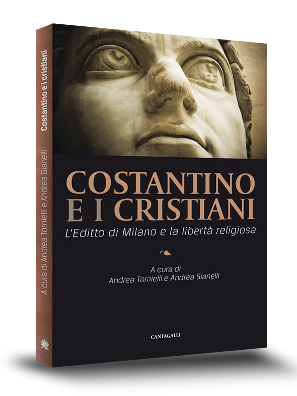 Book Cover | Costantino e i cristiani