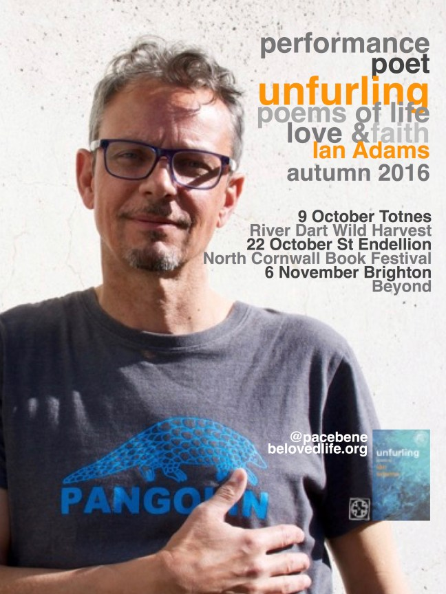 Flyer for Autumn 2016 gigs