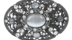 Floral Belt Buckle or Buckles with Petals