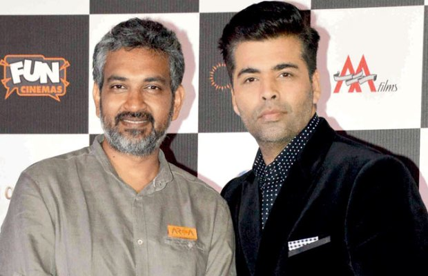 SS Rajamouli and Karan Johar