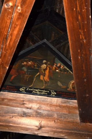 Wooden Spreuer Bridge with its Dance of Death paintings under the roof is certainly one of Lucerne's highlights.