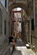 Entering Corniglia