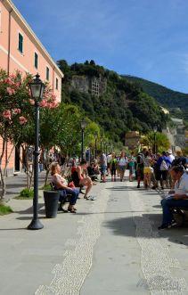 Monterosso al Mare promenade