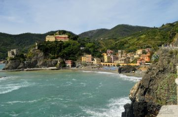 looking back at Monterosso
