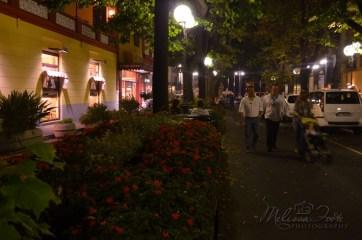 our evening walk through Sorrento