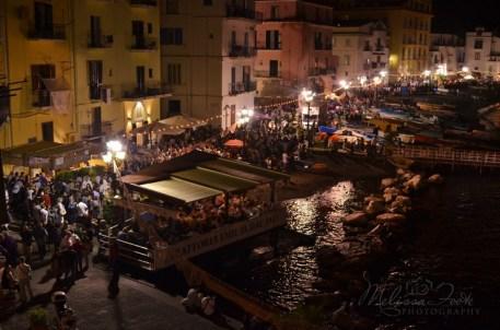 Marina Grande in Sorrento, Blue Fish Festival
