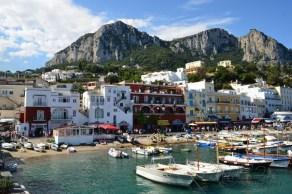 Arriving in Capri